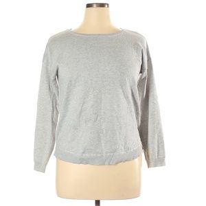 Spense Basic Grey Pullover Sweater Size XL